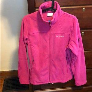 Pink Columbia zip-up jacket. NEVER WORN. OBO